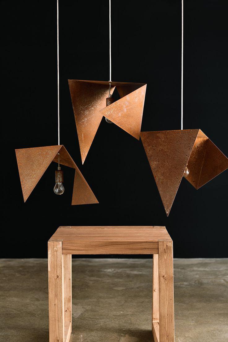 Trio | Rust lamp | Gie El Home |