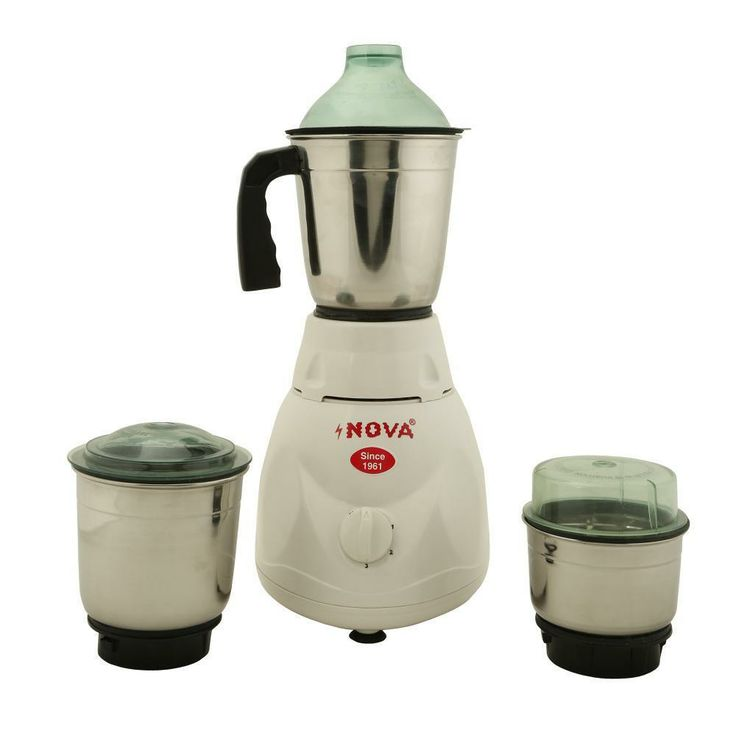 Get 16% OFF ON Nova 3 Jar Mixer Grinder.