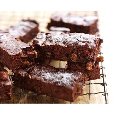 Choklad- och russinbrownies (utan socker)