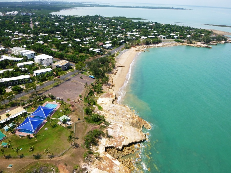 A shot from the Helicopter in Darwin