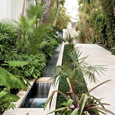 Allow For a Water Feature < 10 Ways to Create a Backyard Oasis - Coastal Living