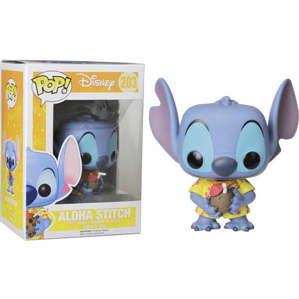 Lilo & Stitch Aloha Stitch Figurine Funko Pop!