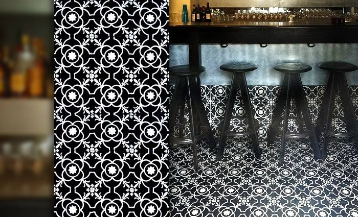Make your own style with encaustic cement tile  www