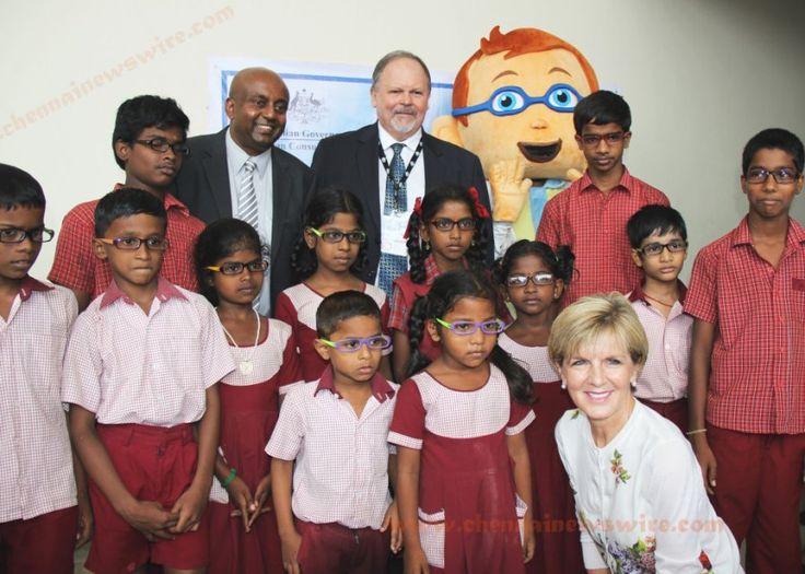 Australian Minister Ms Julie Bishop at Events Chennai