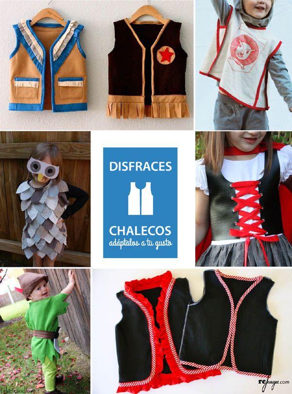 Disfraces fáciles para niños para jugar todo el año. Combina chalecos, tutús y accesorios para un disfraz para niño cómodo y sencillo de hacer