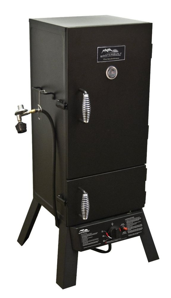 Smoker by Masterbuilt Propane Smoker #Masterbuilt Makes the most delicious ribs and smoked chicken wings!
