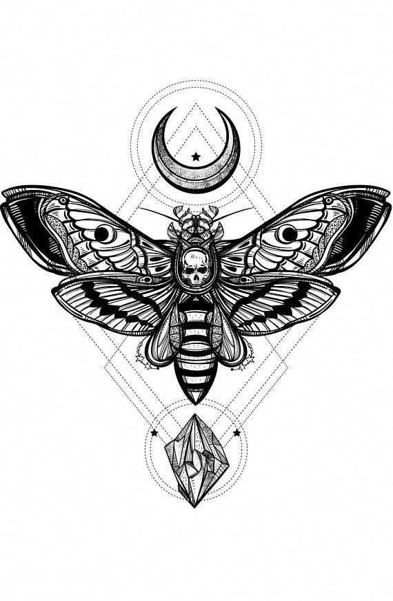 Tattoos Motten Tattoo Marquesan Tattoos Tattoo Armel Designs Okkultes Tattoo Hawaiian T Tattoos In 2020 Moth Tattoo Geometric Tattoo Design Occult Tattoo