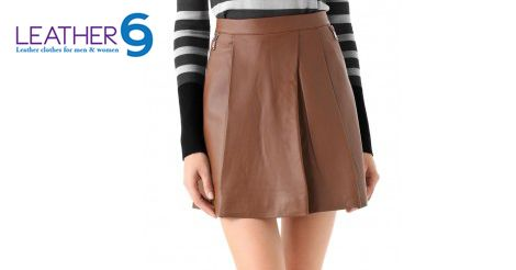 Shop for clubbing style hot leather Skirts @ http://bit.ly/1KdIblk #fashion #style #jacket #leather