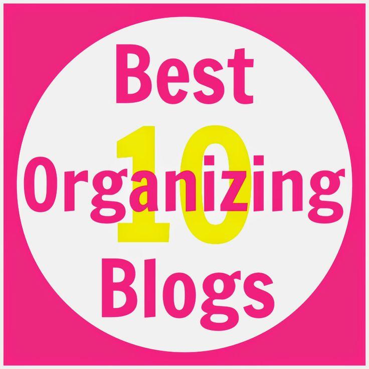 Organized Charm: Top 10 Organizing Blogs