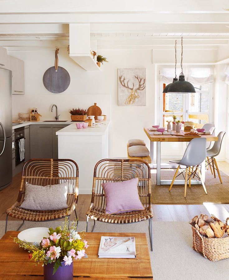 Cambio de imagen para un apartamento de montaña · ElMueble.com · Casas