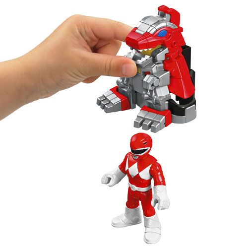 IMAGINEXT® POWER RANGERS™ Battle Armor Red Ranger - Shop Imaginext Kids' Toys…