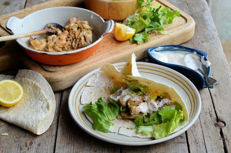 Healthy Happy Hearts: Low-Calorie Spicy Mexican Fish Wraps Recipe (300 calories)