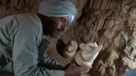 Archaeologists unearth five ancient tombs on Luxor's west bank - Ancient Egypt - Heritage - Ahram Online