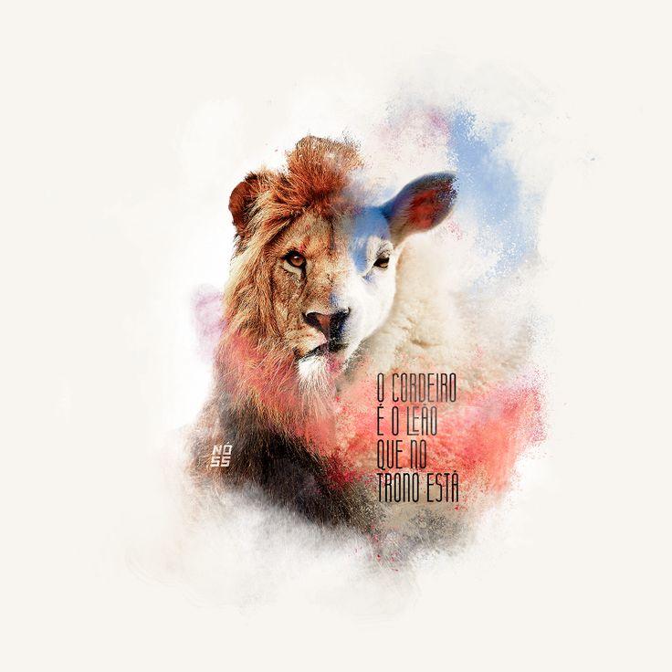 Consultez ce projet @Behance: \u201cO Cordeiro é o Leão que no Trono está\u201d https://www.behance.net/gallery/53502705/O-Cordeiro-o-Leao-que-no-Trono-esta