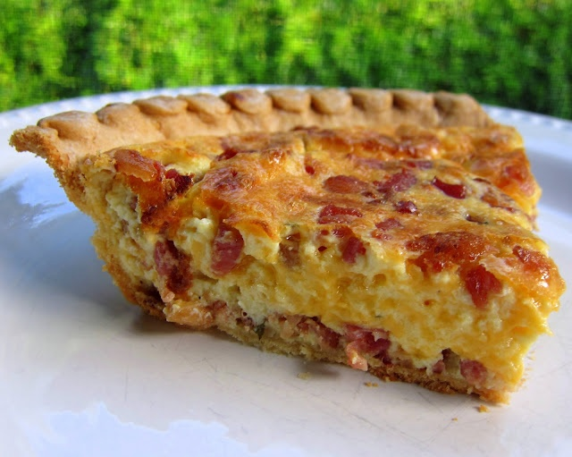 Cracked Out Quiche | Plain Chicken