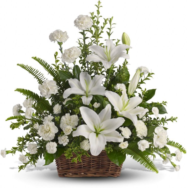 As peaceful and beautiful as a starry night, this pure white funeral bouquet is a touching way to remember a truly special person. Send this classic arrangement to comfort the newly bereaved at the funeral.