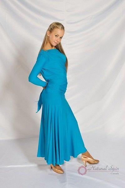 Natural Spin Dancewear Ballroom Skirt:  M039S