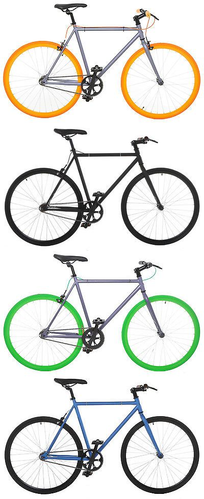 bicycles: Vilano Fixed Gear Bike Fixie Single Speed Road Bike -> BUY IT NOW ONLY: $179.0 on eBay!