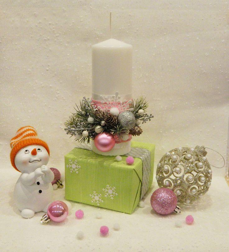 Новогодний декор свечи. Christmas decorations. Handmade NY decor. Candle crafts. DIY.