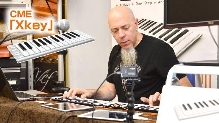 Jordan Rudessトークショー&ミニライブ atクロサワ楽器お茶の水駅前店(鍵盤の魔術師がUSB/MIDIキーボードCME「Xkey」を...