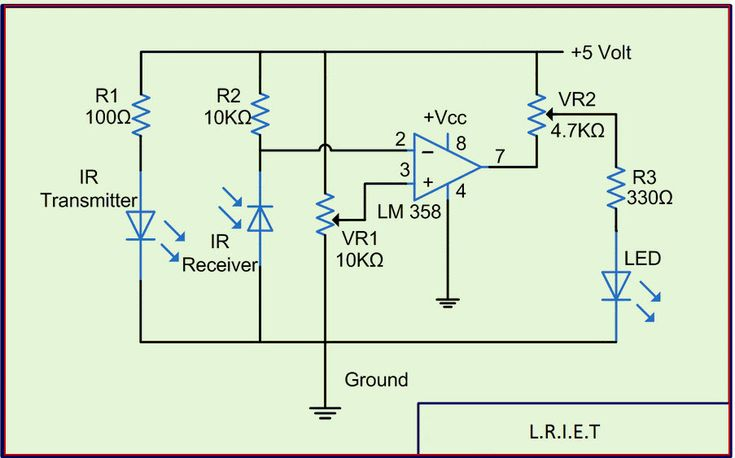 infrared flame sensor wiring diagram infrared temperature