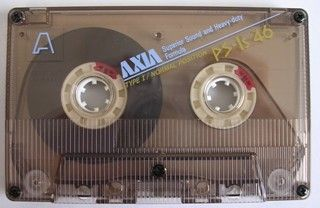 カセットテープcassette tape AXIA PS-Is 昭和