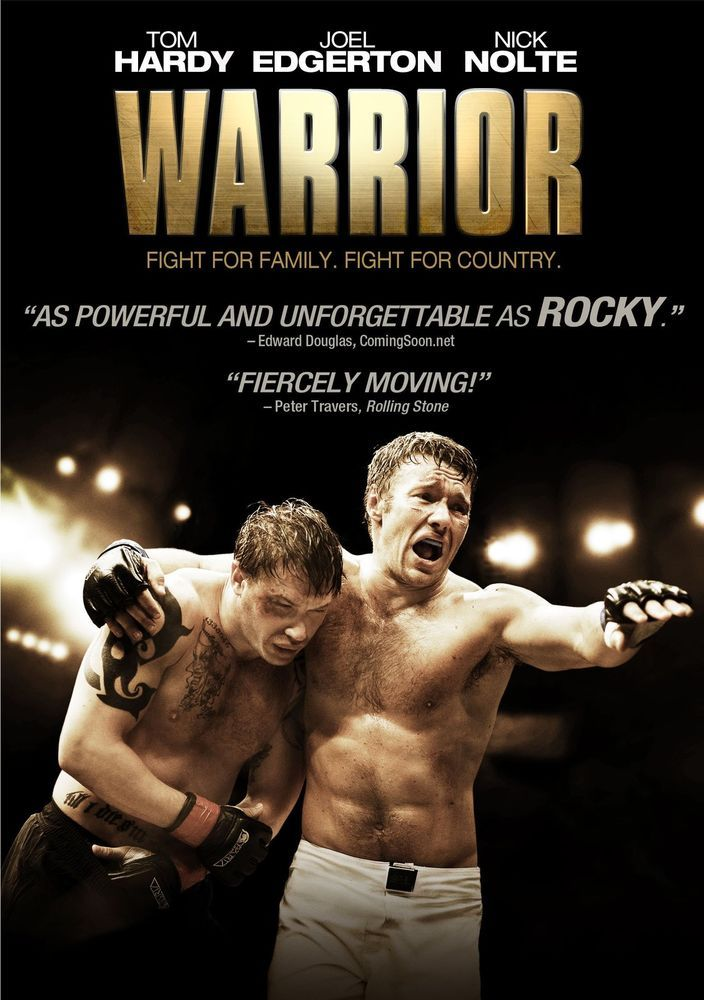 140 Minute DVD Warrior Drama Sport Fight Movie Film R Restricted With Tom Hardy #Lionsgate