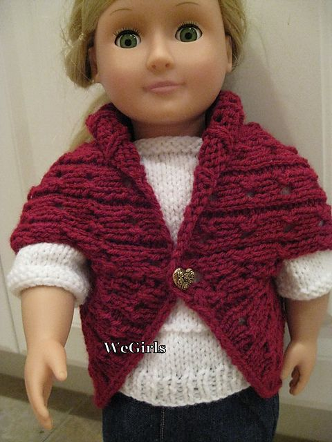 Knit And Crochet Patterns For 18 Inch Dolls : 17 Best images about Knit/Crochet Doll Outfits on Pinterest Barbie dress, B...