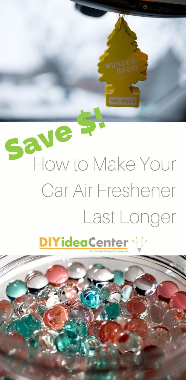 How to Make Car Air Freshener Last Longer Car air