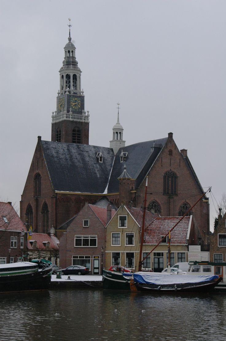 De Groote Kerk van Maassluis op het kerkeiland