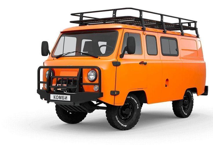 レトロでカワイイ新型suv Uazの Sgr Expedition えん乗り Van Offroad Expedition
