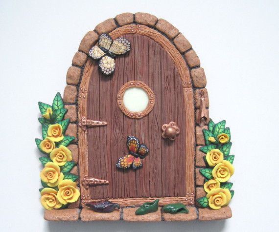 213 best images about ideas houses painted rocks on for Painted fairy doors