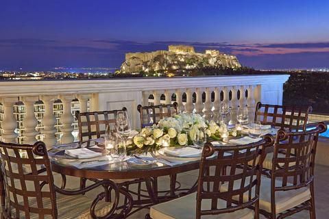 King George Palace Hotel, Athens