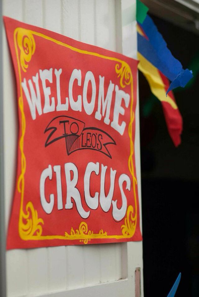 Welcome to the circus party