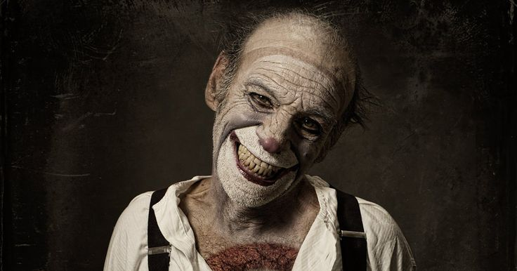 Spine-Chilling Clown Portraits By Eolo Perfido Will Give You Nightmares | Bored Panda