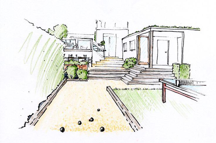 AM petanque court