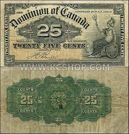 Canada banknotes - Canadian bank