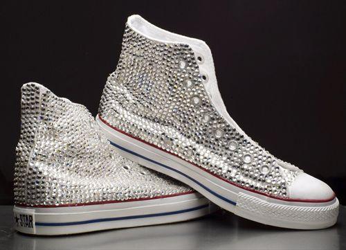 Converse e Swarovski per scarpe brillanti - Notizie.it