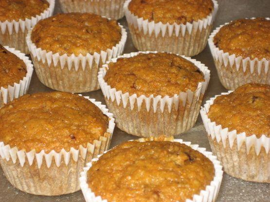 Eggless Vegan Carrot Cake Cupcakes Recipe - Food.com: Food.com