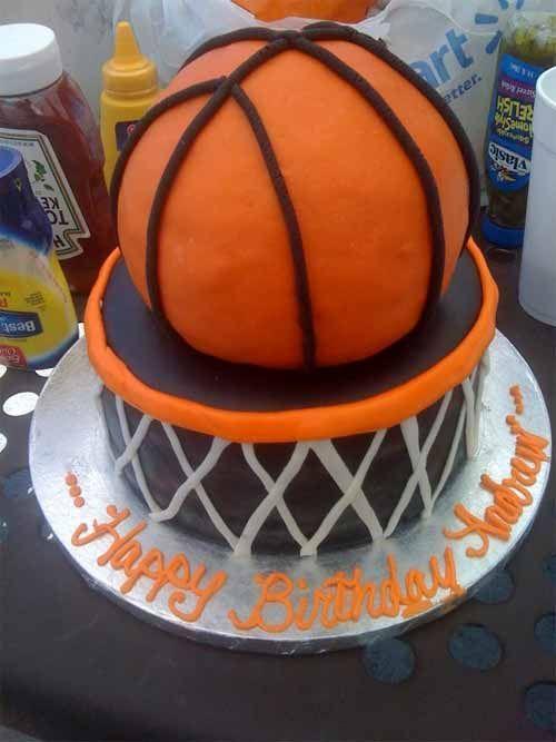 Basketball Cake Design