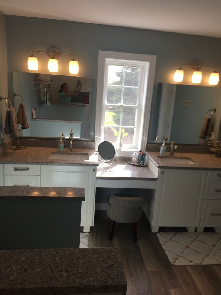 This Master Bathroom Was Designed With IKEA Kitchen