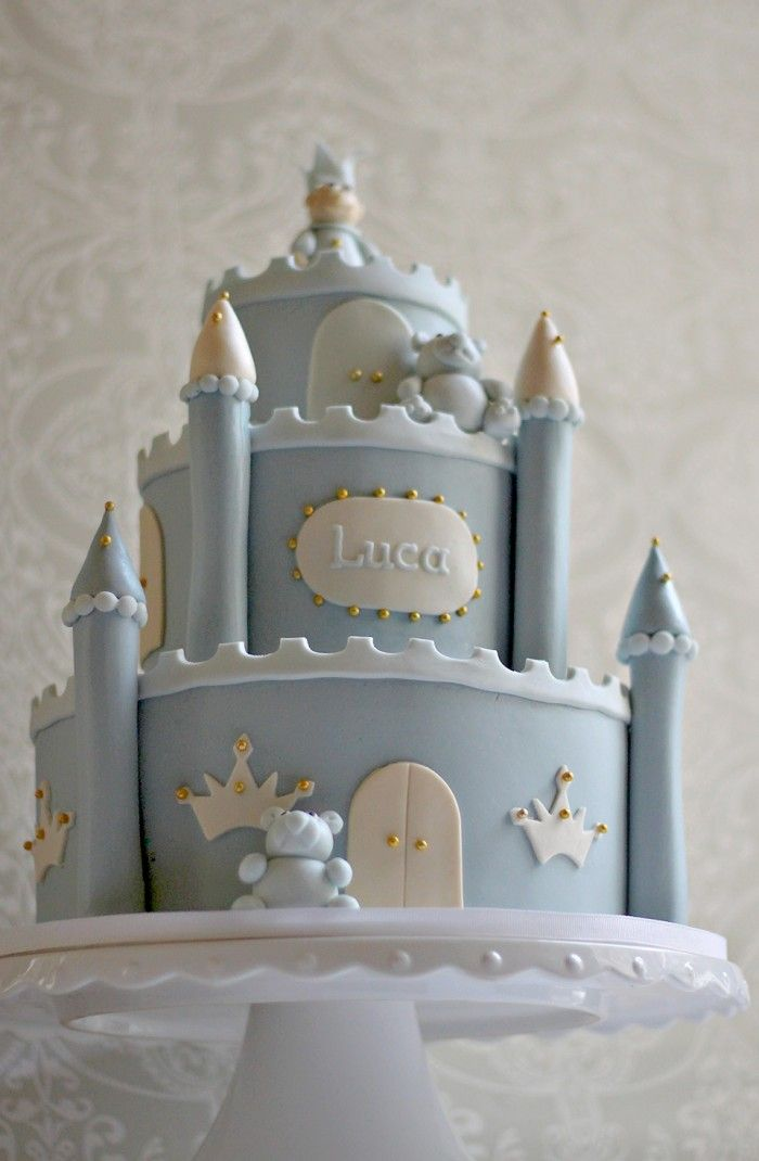 Luca's Little Prince Baby Shower Cake