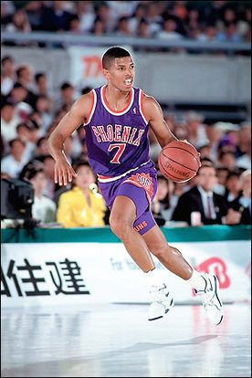 Kevin Johnson, who played for the Phoenix Suns from 1988 to 2000.