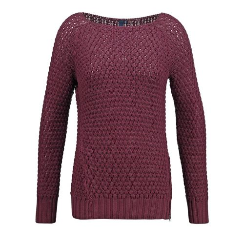s.Oliver Denim Strickpullover - red wine