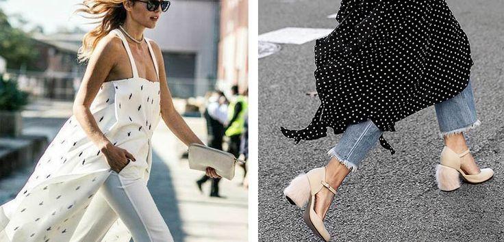 Vestidos sobre pantalones ¡nueva tendencia! - https://www.bezzia.com/vestidos-sobre-pantalones-nueva-tendencia/