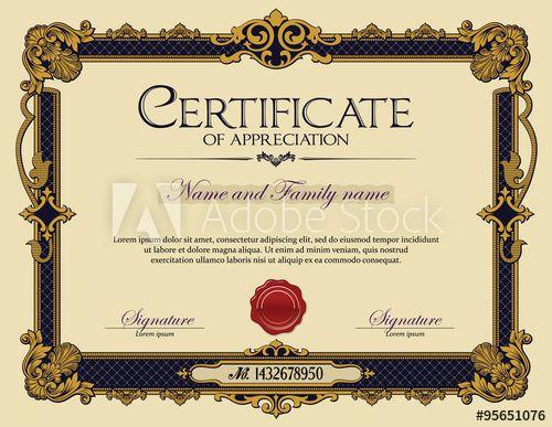 Best 25+ Certificate of appreciation ideas only on Pinterest ...