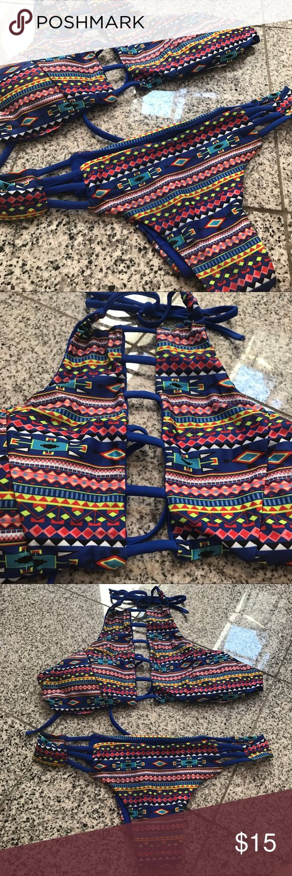 Hotapei Women's Tribal Bikini XL Hotapei Women's Tribal Bikini XL. Super cute & sexy. Very comfortable. Brand new! hotapei Swim Bikinis