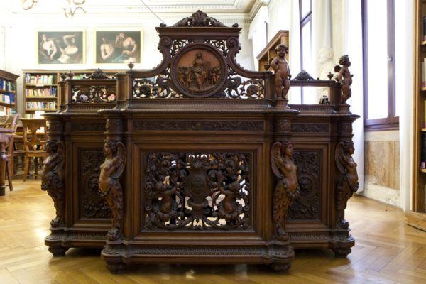 Arredi Biblioteca Fondazione Querini Stampalia #biblioteca #querinistampalia