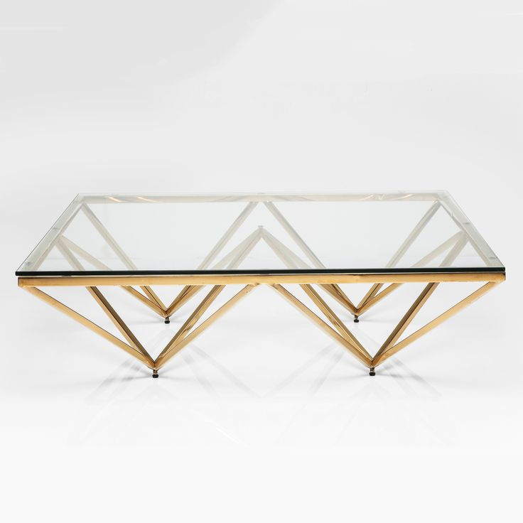 This item is not for understated style  Grandeur oozes from this brass-plated polished stainless steel coffee table with a contrasting clear glass top. Vintage inspiration with a contemporary look. The perfect piece to really finish off your living space  *Please note that delivery will take approximately 4-6 weeks*