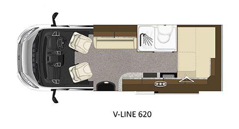 V-Line 620-SPORT Floorplan